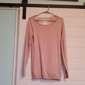 BRAND NEW, never worn, pink,  sweater Tunic